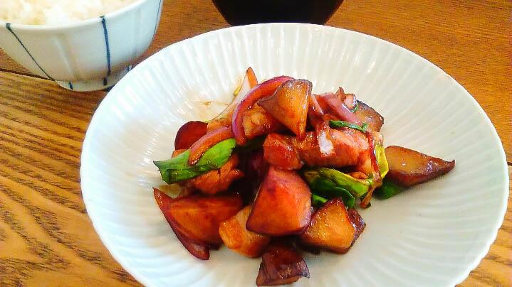 階段ノ上ノ食堂で出されるタケノコ王のタケノコ料理