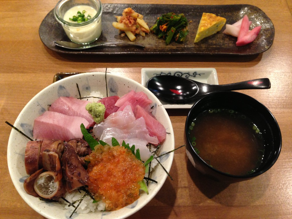 吉祥寺で食べられる美味しい海鮮丼定食